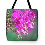 Purple Orchid Branch Tote Bag