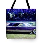 Purple Overtones Tote Bag