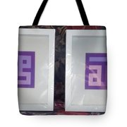 Purple Pair Tote Bag