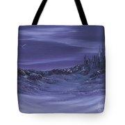 Purple Paradise Sold Tote Bag