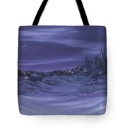 Purple Paradise Sold Tote Bag by Cynthia Adams
