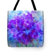 Purple Passion Hydrangea  Tote Bag