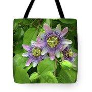 Purple Passion Vine Tote Bag