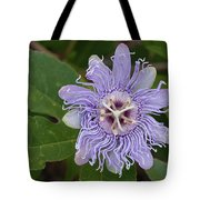 Purple Passionflower #2 Tote Bag