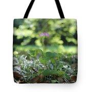 Purple Persists Tote Bag