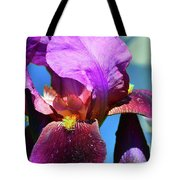 Purple Petals Four  Tote Bag