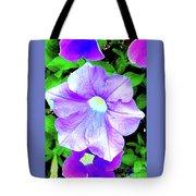 Purple Petunias 2 Tote Bag