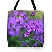 Purple Phlox Tote Bag