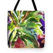 Purple Pineapple Tote Bag
