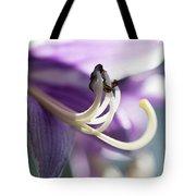 Purple Pollenate Tote Bag