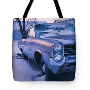 Purple Pontiac Tote Bag