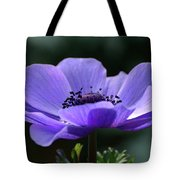Purple Poppy Mona Lisa Tote Bag