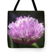 Purple Puff Tote Bag