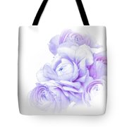 Purple Ranunculus Tote Bag