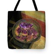 Purple Rocks Tote Bag