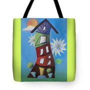 Purple Room Tote Bag