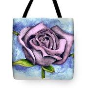 Purple Rose Tote Bag by Robert Morin