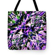 Purple Sea Monster Tote Bag