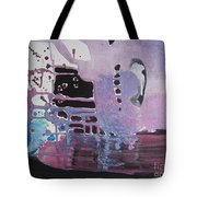 Purple Seascape Tote Bag