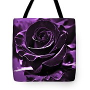 Purple Seduction Tote Bag