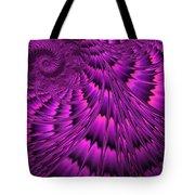Purple Shell Tote Bag