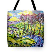 Purple Skies Seven Tote Bag