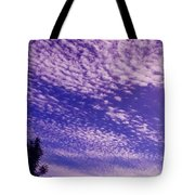 Purple Sky At Casapaz Tote Bag