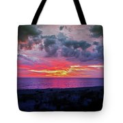 Purple Sky Tote Bag