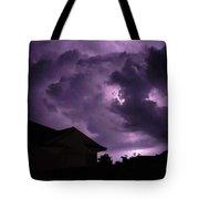 Purple Sky Tote Bag