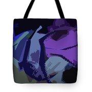Purple Smash Tote Bag