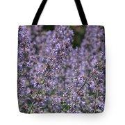 Purple Spikes Flora Impression 6.8.17  Tote Bag