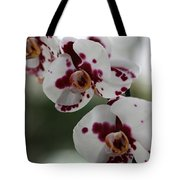Purple Splash Orchid 2 Tote Bag