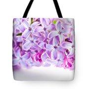 Purple Spring Lilac Flowers Blooming Tote Bag