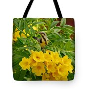 Purple Sunbird Tote Bag