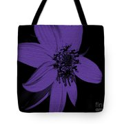 Purple Sunflower Tote Bag