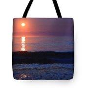 Purple Sunrise On Nauset Beach Tote Bag
