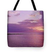 Purple Sunset At Kapalua Beach Tote Bag