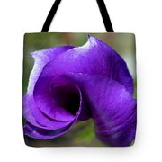 Purple Vortex Tote Bag