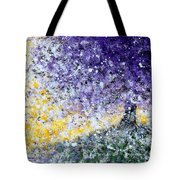 Purple Tree And The Afternoon Sun Tote Bag