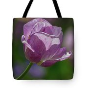 Purple Tulip Tote Bag