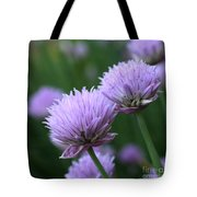 Purple Twins Tote Bag