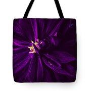 Purple Velvet Tote Bag
