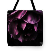 Purple Velvet Rose Tote Bag