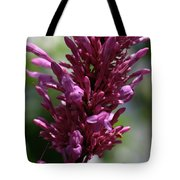 Purple Wildflower Tote Bag
