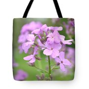 Purple Wildflowers Two Tote Bag