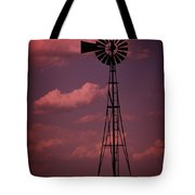 Purple Wind Tote Bag