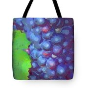 Purple Wine Grapes 2017 Tote Bag