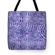 Purple Zebra Print Tote Bag