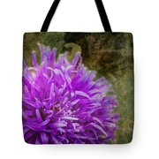 Purple Zinnia Tote Bag