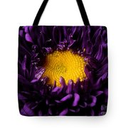Purples - Zooming To The Center Tote Bag